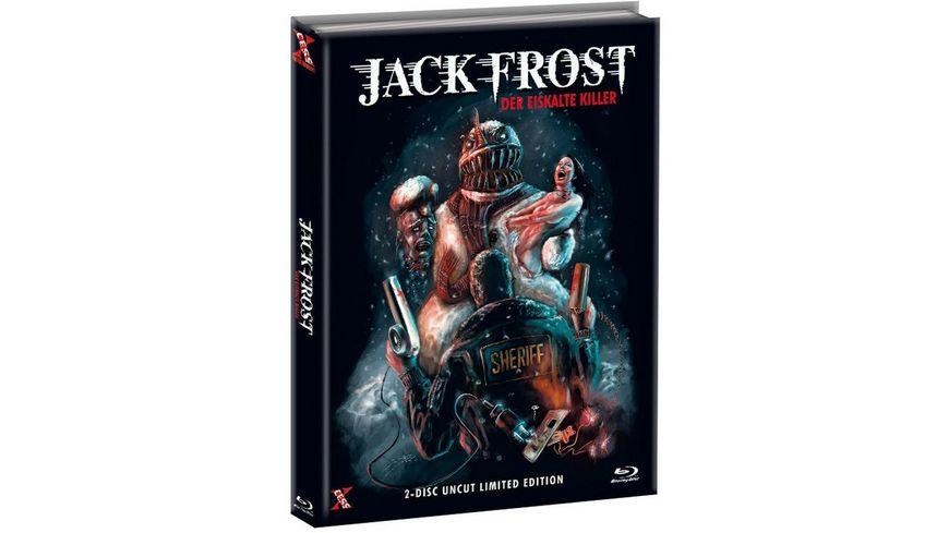 Jack Frost Der eiskalte Killer Uncut Limited Edition Mediabook DVD Cover B