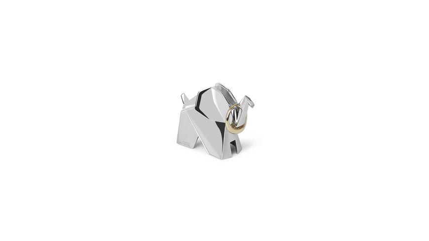 umbra Origami Elefanten Ringhalter
