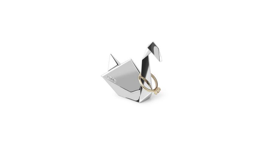 umbra Origami Schwan Ringhalter