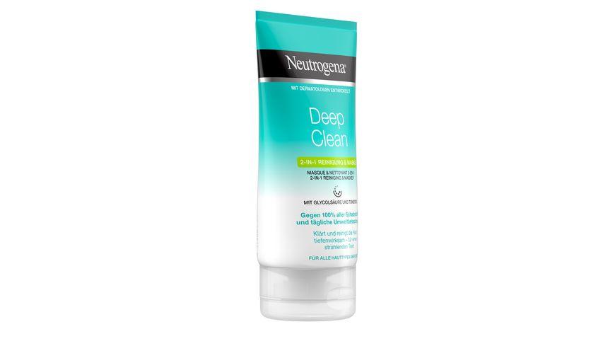 Neutrogena Skin Detox 2-in-1 Reiniung und Maske