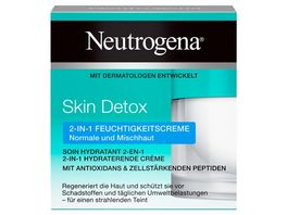 Neutrogena Skin Detox 2 in 1 Feuchtigkeitscreme
