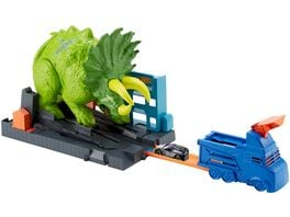 Hot Wheels City Triceratops Angriff Spielset