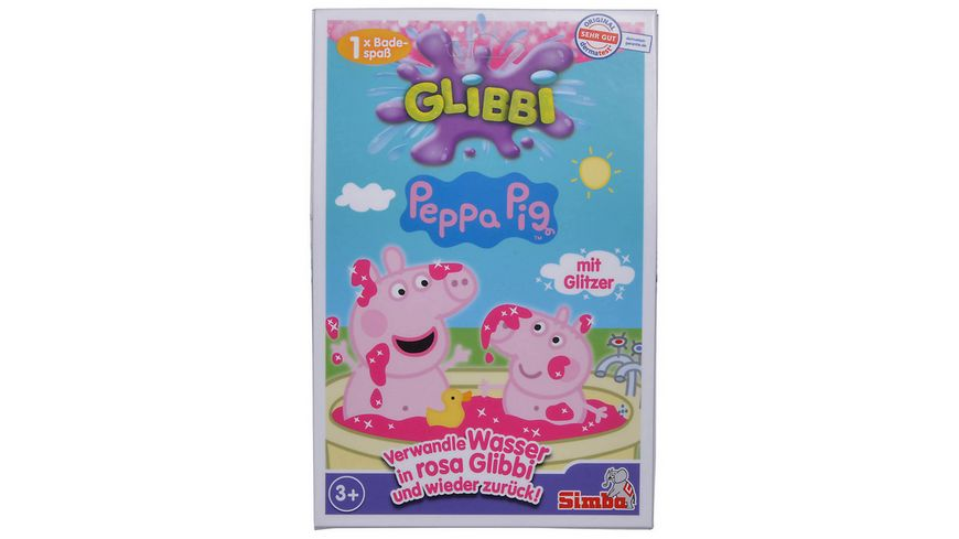 Simba Glibbi Peppa Pig 1x Badespass