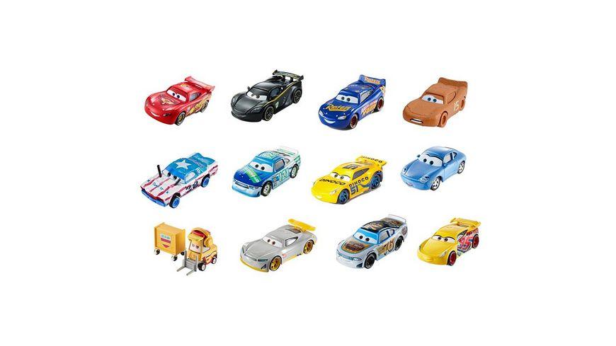 Mattel Cars 3 Die Cast Fahrzeug 1 55 1 Stueck sortiert