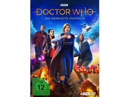 Doctor Who Staffel 11 4 DVDs