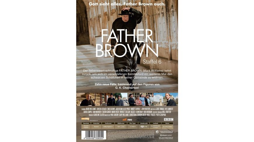 Father Brown Staffel 6 3 DVDs
