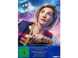 Doctor Who Staffel 11 Limitiertes Mediabook inkl Wendeposter und Leerplatz fuer New Year Special LTD