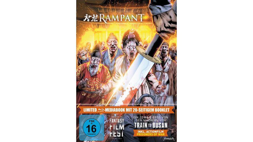 Rampant LTD. - Limitiertes 2-BD-Mediabook samt FSK-Umleger