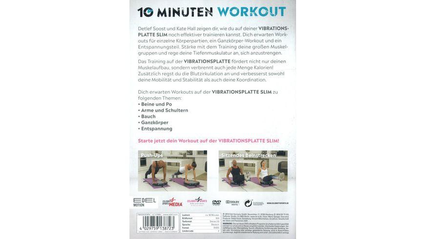 10 Minuten Workout Vibrationsplatte Slim