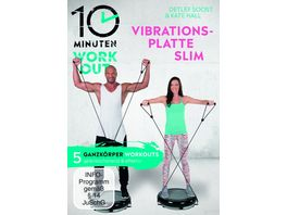 10 Minuten Workout Vibrationsplatte Slim