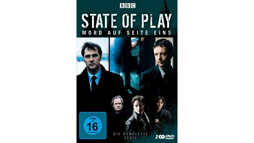 State of Play Mord auf Seite eins 2 DVDs
