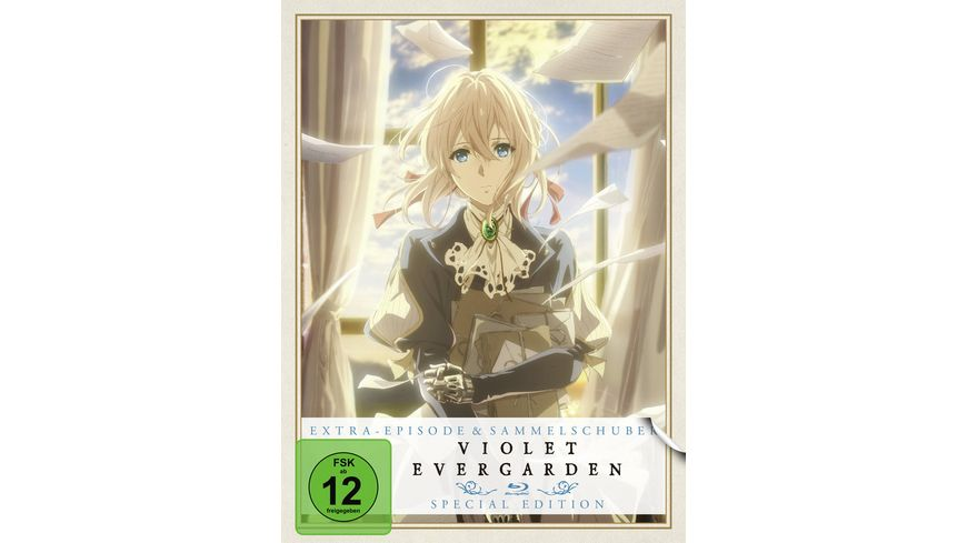 Violet Evergarden St 1 Vol 1 Extra Episode Sammelschuber Limited Special Edition