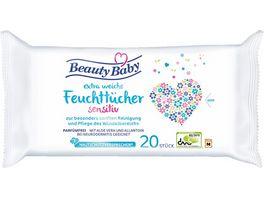 Beauty Baby Feuchttuecher Reisepack Sensitiv