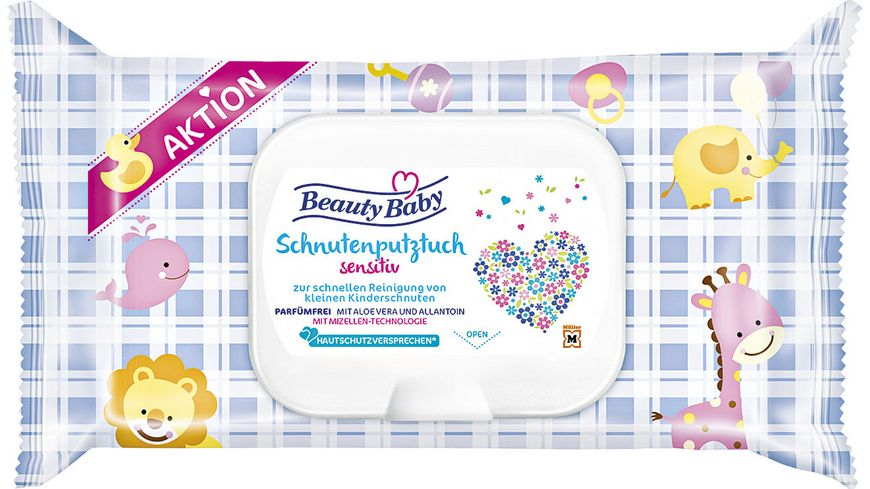 Beauty Baby Schnutenputztuch sensitiv