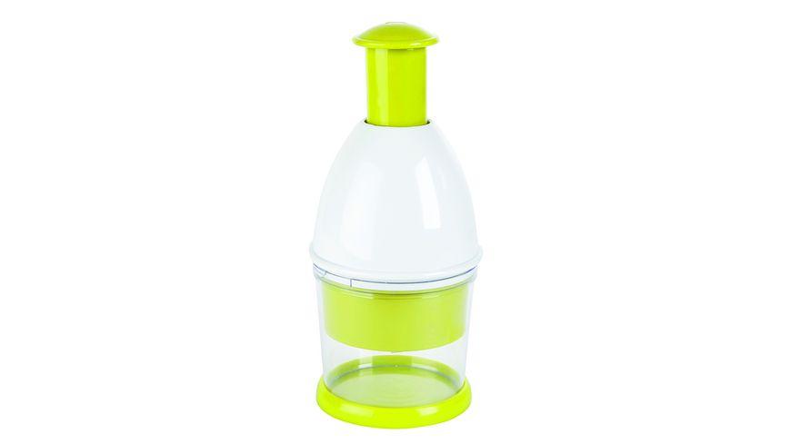 Multihacker Kunststoff 23cm grün/weiß