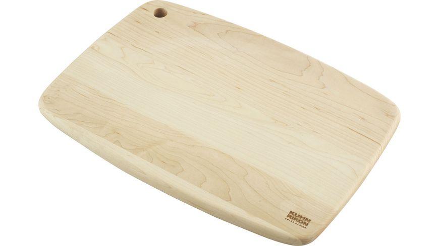 Kuhn Rikon Holzschneidebrett Ahorn 35,5x25,4cm