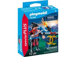 PLAYMOBIL 70158 Special Plus Asiakaempfer
