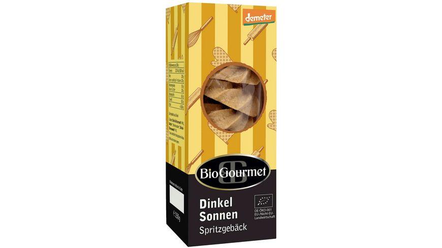 BioGourmet Dinkel-Sonnen Spritzgebäck