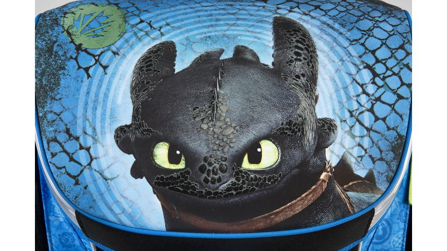 Scooli CAMPUS FIT Schulranzen Set 5teilig Dragons