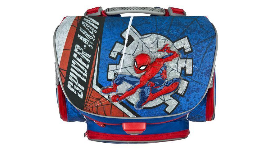 Scooli CAMPUS FIT PRO Schulranzen Set 6teilig Spider Man