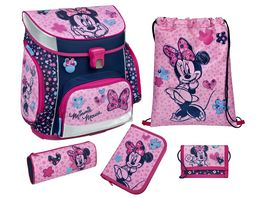 Scooli CAMPUS FIT Schulranzen Set 5teilig Minnie Mouse