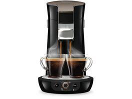 PHILIPS Senseo Viva Cafe Kaffeepadmaschine HD6564 60 dark beluga