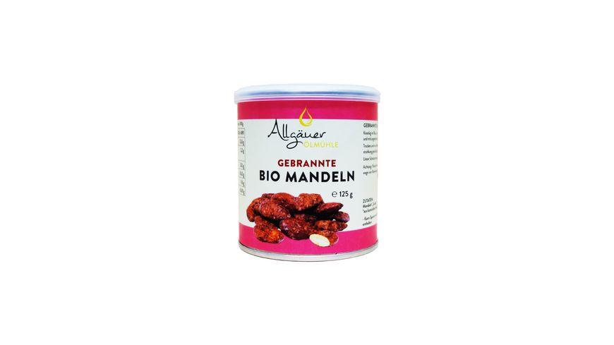 Allgaeuer Oelmuehle gebrannte Bio Mandeln