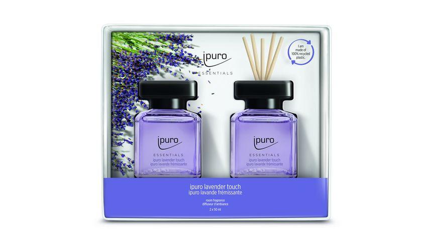 ipuro Raumduft Essential Lavender Touch Set