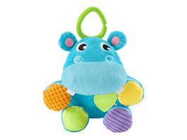 Fisher Price Versteck mich Pluesch Nilpferd Baby Spielzeug Kuscheltier Baby Ball