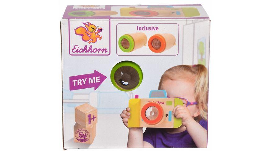Eichhorn Kamera und Kaleidoskop 3 tlg