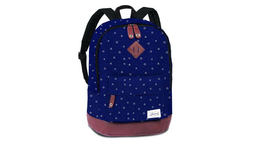 BESTWAY Rucksack Symbole dunkelblau 40190 5000