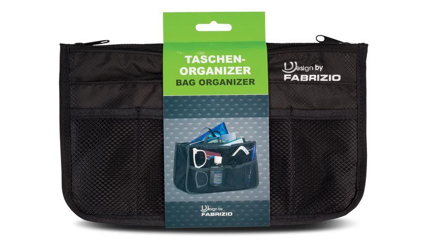 fabrizio Taschenorganizer schwarz