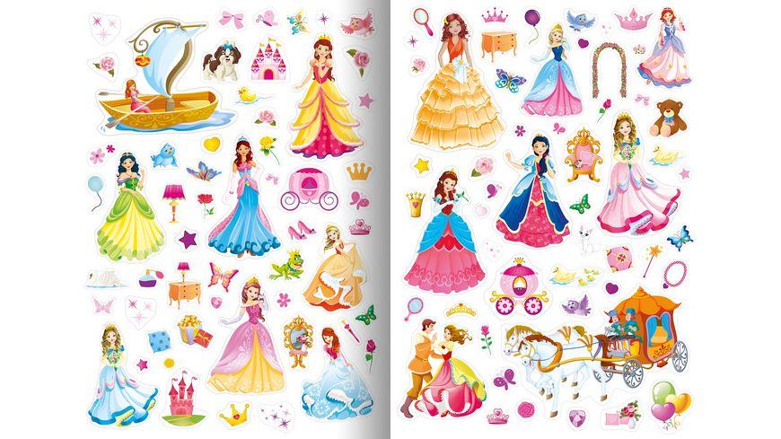 Meine Stickerwelt Prinzessinnen mit ueber 400 Sticker