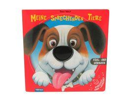 Meine sprechenden Tiere Fuehlbuch Soundbuch