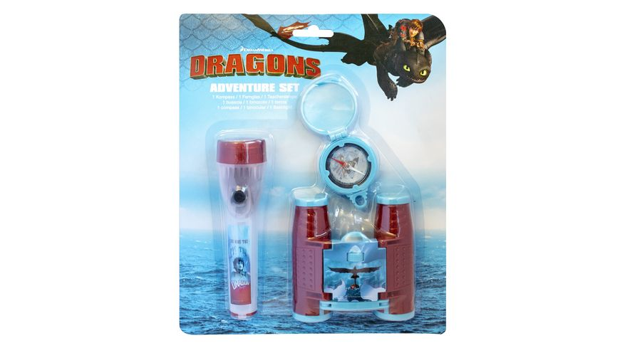 Joy Toy Dragons Drachenzaehmen leichtgemacht 3 Adventure Set 3tlg