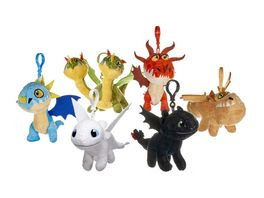 Joy Toy Dragons Drachenzaehmen leichtgemacht 3 Schluesselanhaenger aus Pluesch 1 Stueck sortiert
