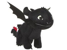 Joy Toy Dragons Drachenzaehmen leichtgemacht 3 Ohnezahn Pluesch 60 cm mit Glow in the Dark Effekt