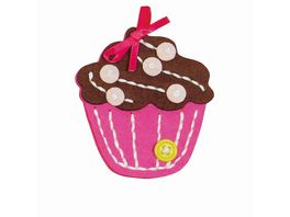 Kleiber Filz Mini Bastelset Cupcake