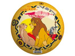 John 9 230 mm Disney Lion King Vinyl Spielball gelb orange
