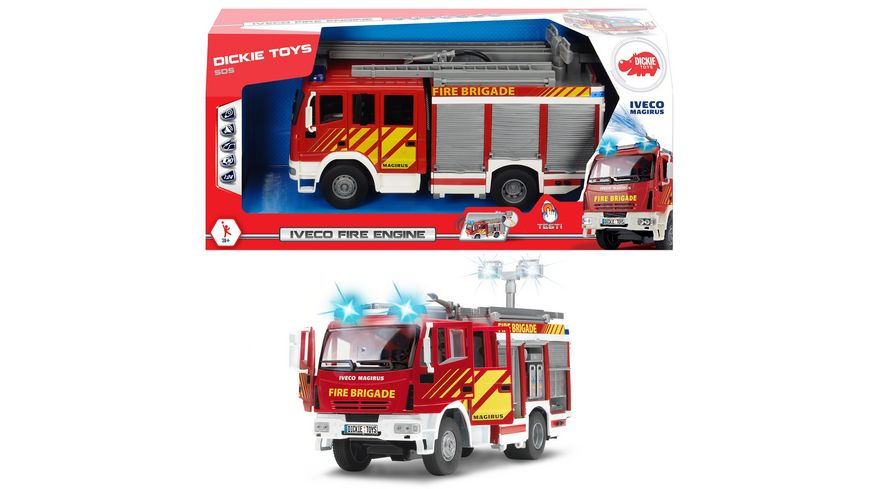 Dickie Toys International Iveco Fire Engine