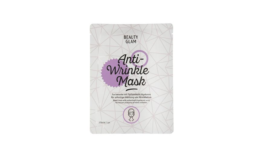 BEAUTY GLAM Anti Wrinkle Mask