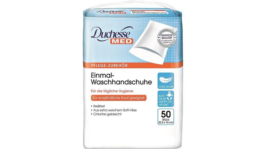 Duchesse MED Einmal Waschhandschuhe