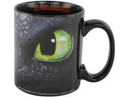 Dreamworks Motiv Tasse Dragons Ohnezahn Hicks