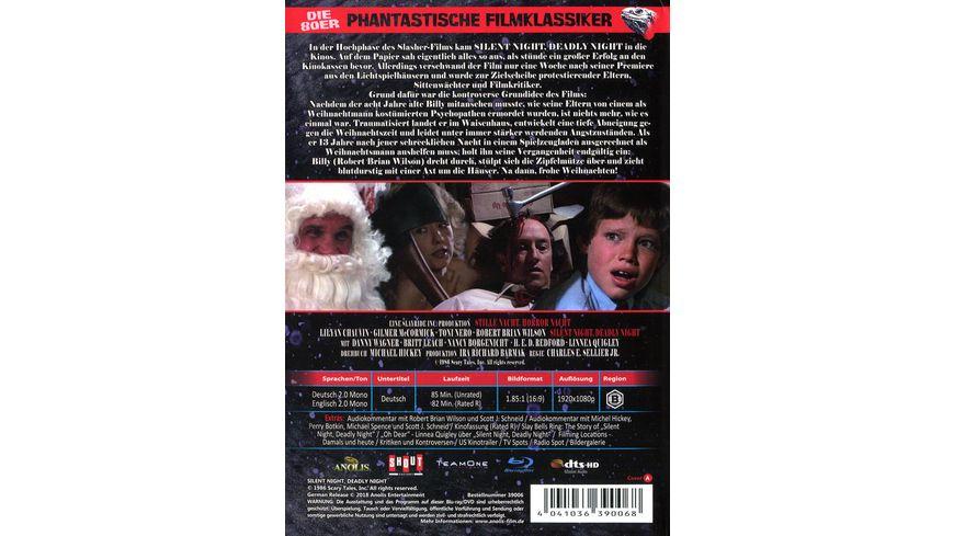 Stille Nacht Horror Nacht Phantastische Filmklassiker Nr 5 Mediabook Limited Uncut Edition Cover A