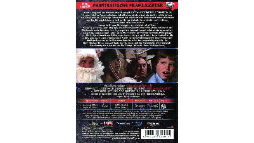 Stille Nacht Horror Nacht Phantastische Filmklassiker Nr 5 Mediabook Limited Uncut Edition Cover B