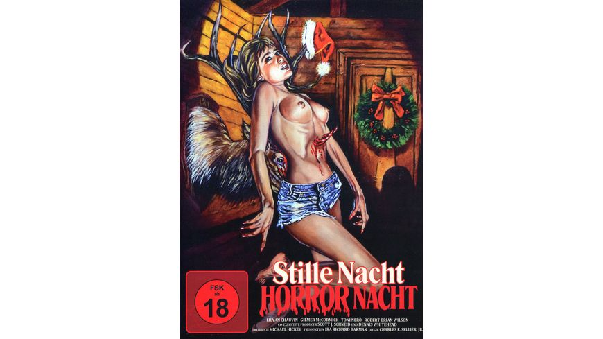 Stille Nacht Horror Nacht Phantastische Filmklassiker Nr 5 Mediabook Limited Uncut Edition Cover C