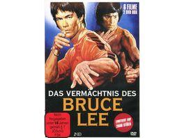 Das Vermaechtnis des Bruce Lee Special Collectors Edition 2 DVDs