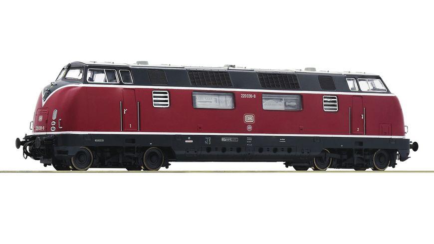 Roco 52680 Diesellokomotive 220 036 8 DB