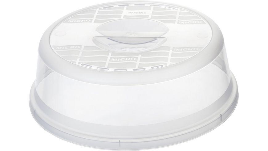 rotho Basic Mikrowellenabdeckhaube 28 5 cm