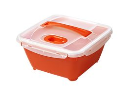 rotho Micro Clever Lunchbox mit Besteck 1 7l